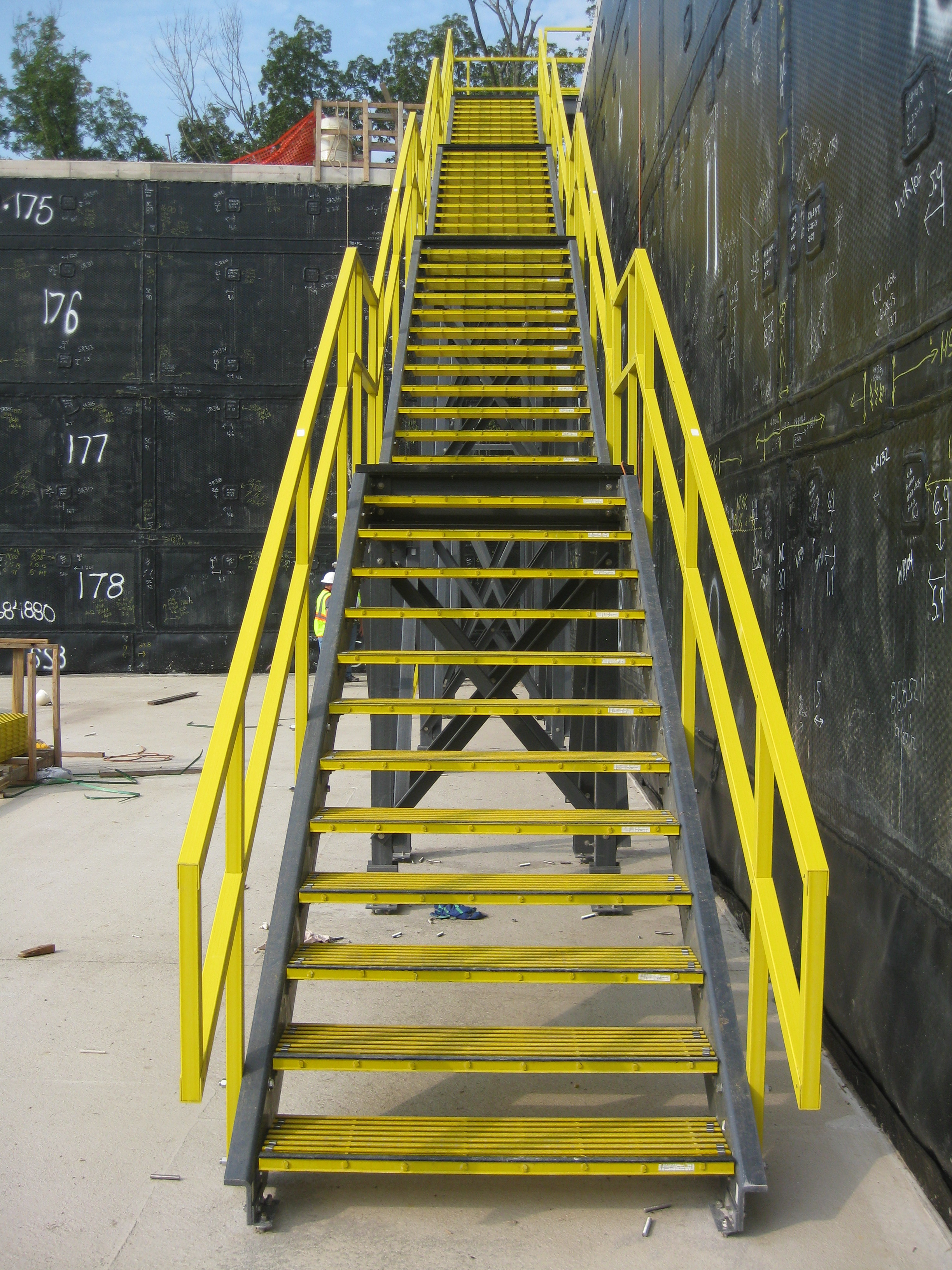 Fiberglass Structural Sections : Fiberglass structural shapes peabody engineering