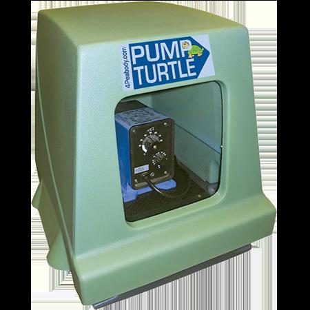 pump containment enclosure pump turtle green peabody engineering transparent background